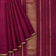 Red Kanchi Silk Saree