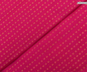 Rose Zari Button Kanchi Silk Fabric