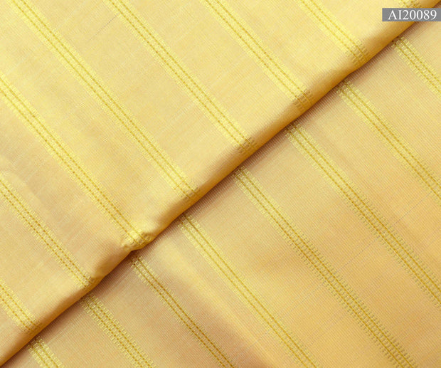 Golden Rod Muthulines Kanchi Silk Fabric