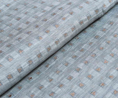 Ash Grey Bailu Silk Fabric