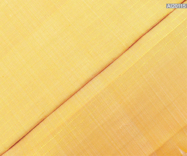 Buttermilk Muthuseer Kanchi Silk Fabric