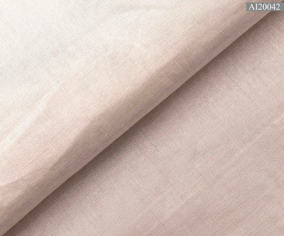 White and Silver Tissue Fabric