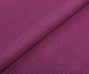 Dark Pink Tussar Fabric with Self Checks
