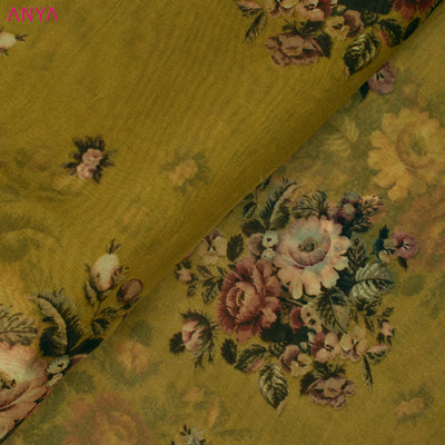 Dijon Organza Silk Fabric