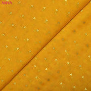 Fire Yellow Bailu Silk Fabric