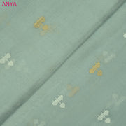 Pastel Blue Tussar Fabric