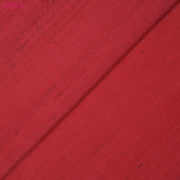 Coral Raw Silk Fabric