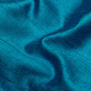 Blue Raw Silk Fabric