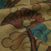 Peanut Brown Pen Kalamkari Fabric