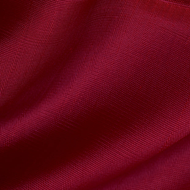 Crimson Red Kanchi Silk Fabric