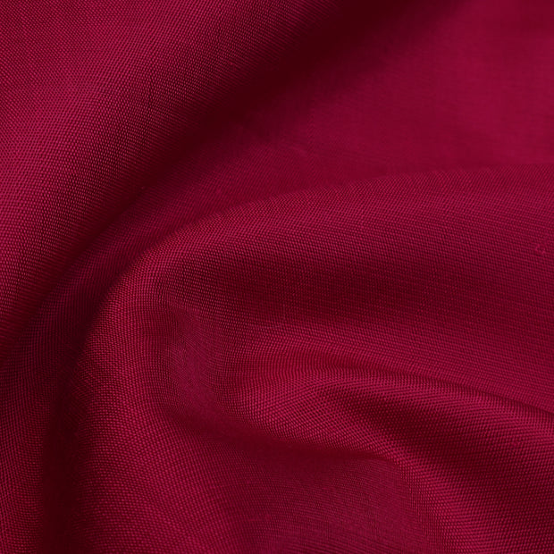 Cherry Red Kanchi Silk Fabric