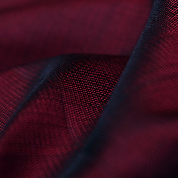 Maroon Kanchi Silk Fabric