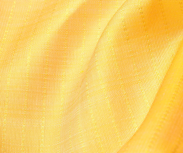 Buttermilk kanchi Silk Fabric