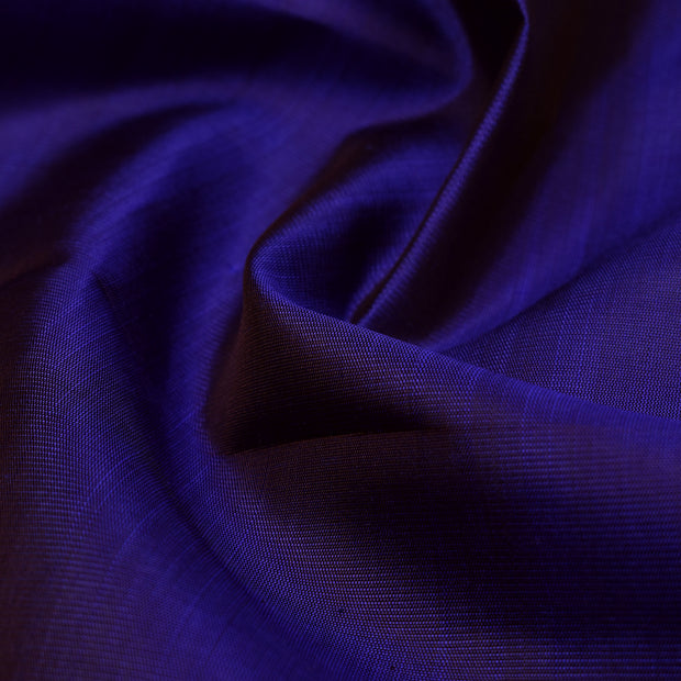 MS Blue Kanchi Silk Fabric