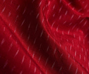 Red Ikkat Silk Fabric