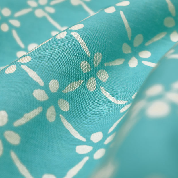 Sky Blue Soft Cotton Fabric