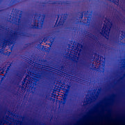 Dual Tone Purple & Blue Bailu Silk Fabric