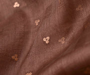 Chocolate Brown Bailu Fabric