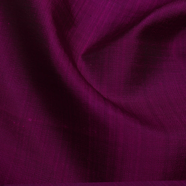 Wine Kanchi Silk Fabric