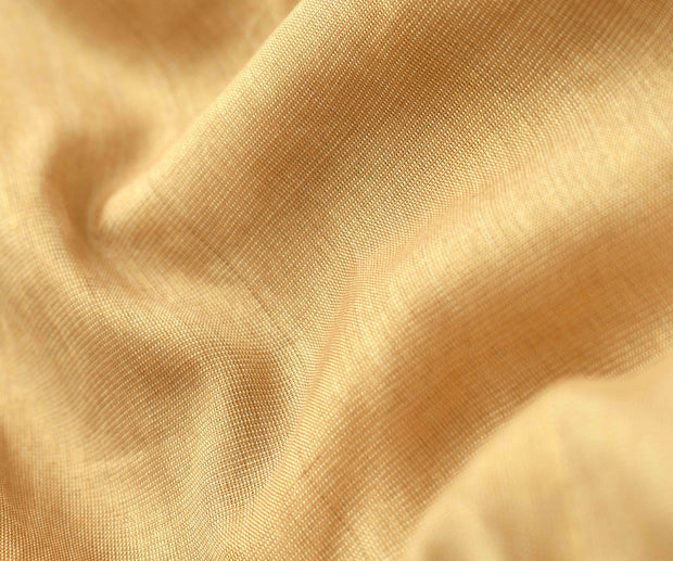 Golden Peach Tissue Fabric