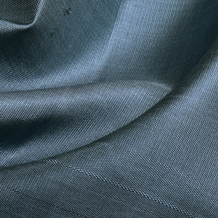 Slate Grey Kanchi Silk Fabric