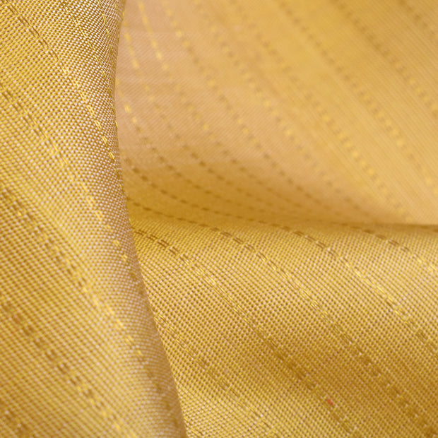 Dark Mellow Muthuseer Line Kanchi Silk Fabric