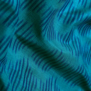 Blue Ikkat Silk Fabric