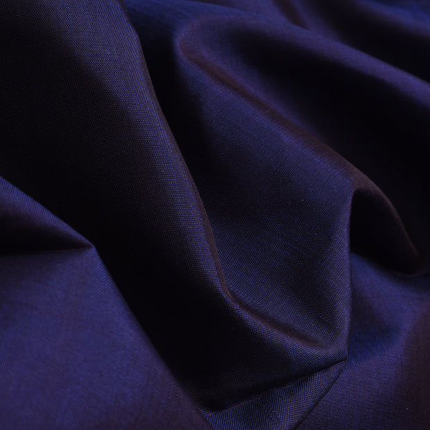 Indigo Blue Kanchi Silk Fabric