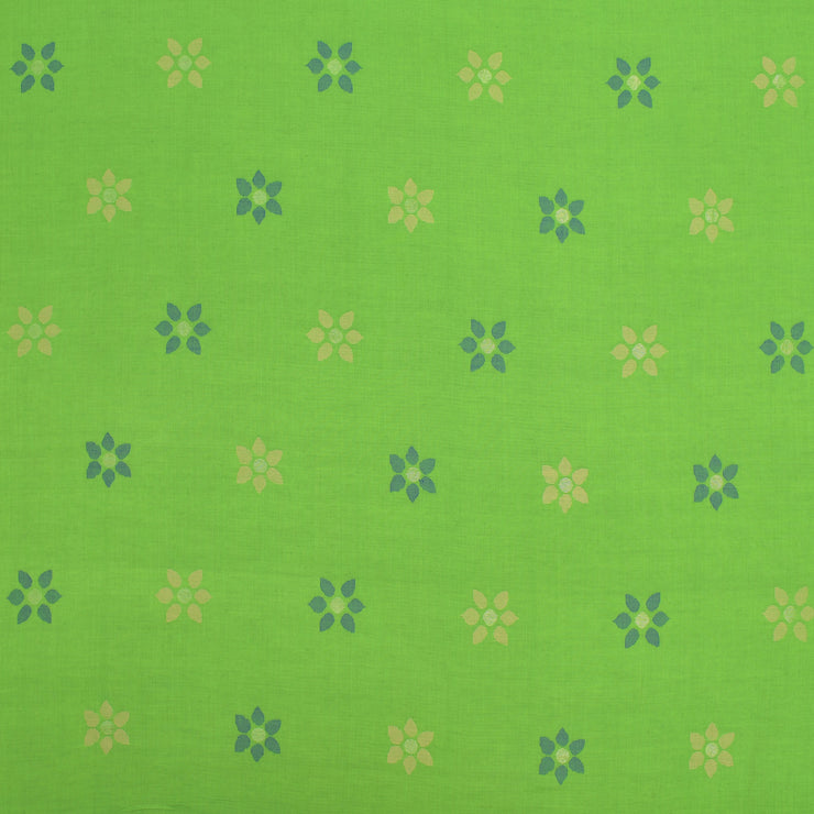 Neon Green Cotton Fabric