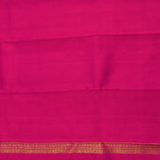 Parrot Green Kattam  Mayil And  Charkaram Zari Butta Kanchi Silk Saree With Rose Pallu And Blouse