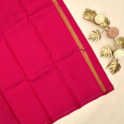 Parrot Green Kanchi Silk Saree With Blouse