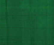 Applegreen Muthuline Kanchi Silk Saree With Bottle Green Pallu and Blouse