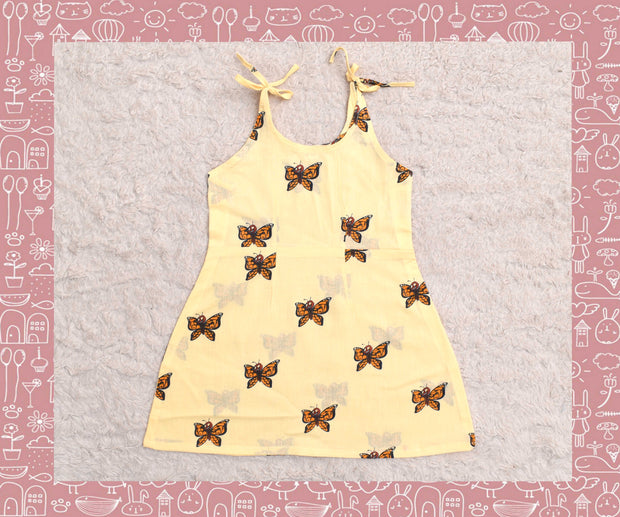 Bhagirathi - Sandal With Orange Butterfly Printed Frock (2yrs)
