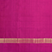 Rust Orange kanchi Silk Saree