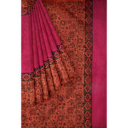 Rose Cotton Saree