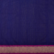 Blue Kanchi Cotton Saree