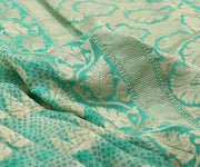 Rexona Printed Banarasi Saree with Blouse