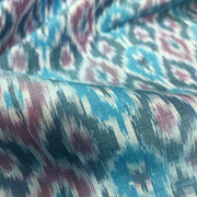 Ikkat Silk Fabric