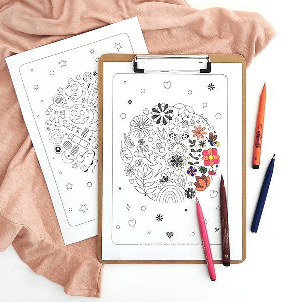 Free printable downloadable colouring in pages