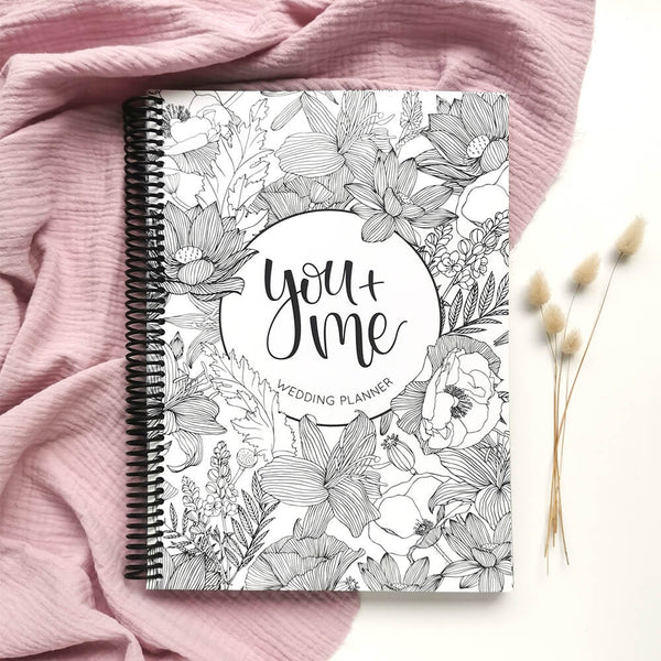 You + Me Wedding Planner Book