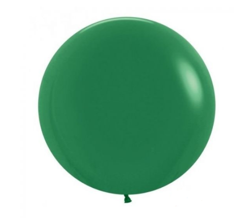 Jumbo Dark Green 60cm Balloon