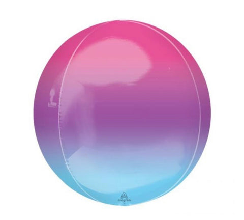 Ombré Purple & Blue Orbz Balloon