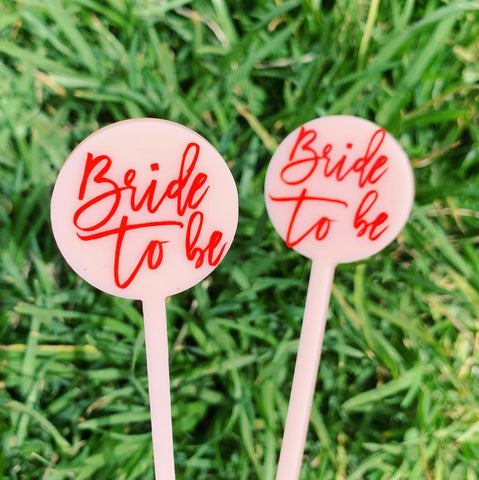 Bride To Be Cocktail Stirrer