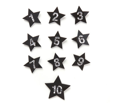 Birthday Badge - Black