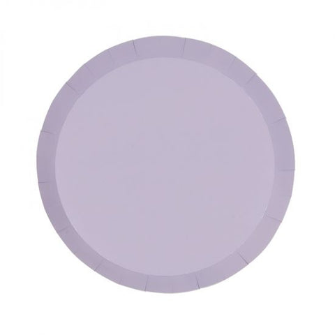 Lilac Paper Snack Plate