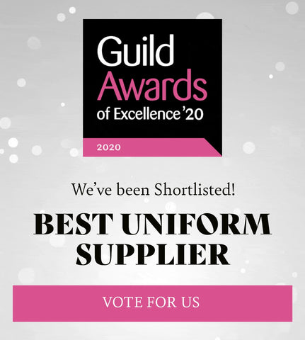 Beauty Guid Awards of Excellence 2020 Best Uniform Supplier