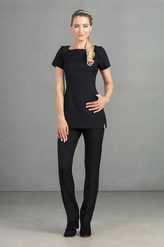 Florence Roby Calvi Tunic in Black