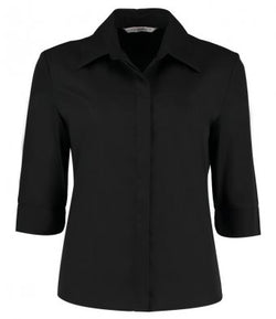 Ladies 3/4 Sleeve Tailored Continental Shirt