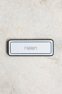 A17 Pin Name Badge