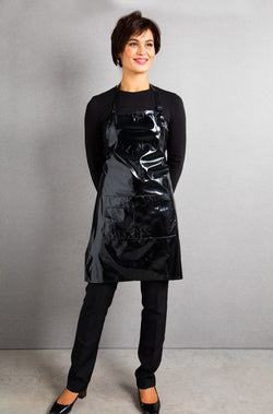 Florence Roby Black Apron